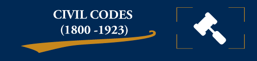 Civil Codes (1800-1923)