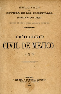 Civil Codes (1800-1923) | Special Collections | Florida
