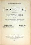 Code Civil Précédé de la Constitution Belge
