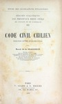 Code Civil Chilien by Raoul de La Grasserie