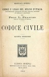 Codice Civile by Luigi Franchi