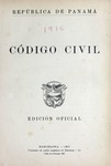 Código Civil by Panamá