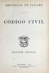 Código Civil by Panamá