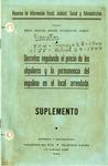 Decretos Regulando el Precio de los Alquileres y la Permanencia del Inquilino en el Local Arrendado: Suplemento by Mario Díaz Cruz