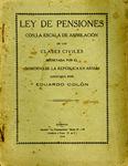 Ley de Pensiones by Eduardo Colón
