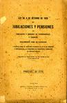 Ley de 4 de Octubre de 1929 de Jubilaciones y Pensiones