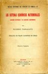 Los Sistemas Económicos Matrimoniales