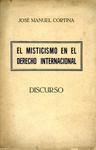 El Misticismo en el Derecho Internacional Discurso: