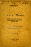 Ley del Censo