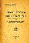 Derecho Sucesorio de los Hijos Adoptivos