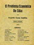 El Problema Economico de Cuba by Rogelio Casas Cadilla