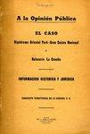 A la Opinión Publica: el Caso Hipódromo Oriental Park - Gran Casino Nacional y Balneario la Concha by Sindicato Territorial de La Habana