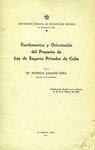 Fundamentos y Orientación del Proyecto de Ley de Seguros Privados en Cuba