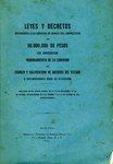Leyes y Decretos Referentes a la Emisión de Bonos de Empréstito de 50.000,000 de Pesos en Inversion Nombramiento de la Comisión de Examen y Calificación de Adeudos del Estado e Instrucciones para su Ejecución