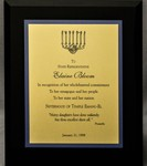 Award for Wholehearted Commitment by Sisterhood of Temple Emanu-El