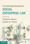 Preserving the Social Enterprise's Mission by Antony Page