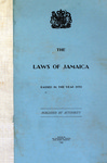 The Laws of Jamaica, 1959 by Jamaica