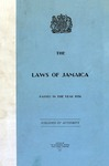 The Laws of Jamaica, 1956 by Jamaica