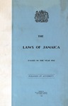The Laws of Jamaica, 1961 by Jamaica