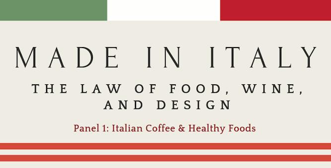 Panel 1: Italian Coffee & Healthy Foods