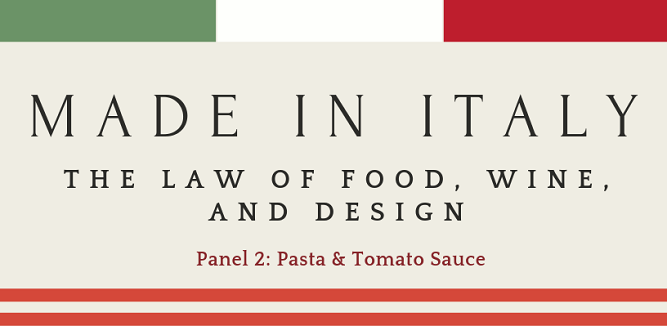 Panel 2: Pasta and Tomato Sauce
