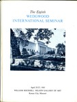 The Eighth Wedgwood International Seminar, April 25-27, 1963, Kansas City, Missouri