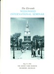 The Eleventh Wedgwood International Seminar, May 5-7, 1966, Dearborn, Michigan