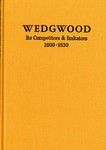 The 22th Wedgwood International Seminar, May 4-6, 1977 : Its Competitors & Imitators 1800-1830, Dearborn, Michigan