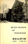 Bulletin of the Buten Museum of Wedgwood