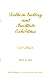 Documentary Ceramics and Related Materials.  Delhom Gallery and Institute Exhibition, Catalogue, April 24, 1968,  The Mint Museum of Art, North Carolina 28207
