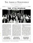 The American Wedgwoodian : The 27th Seminar by Wedgwood International Seminar
