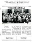 The American Wedgwoodian : The 28th Seminar by Wedgwood International Seminar