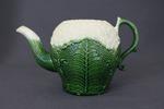 Cauliflower Tea Pot by Josiah Wedgwood and Thomas Whieldon