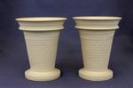Cane bough pots (pair) by Josiah Wedgwood