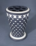 Bough pot with perforated lid