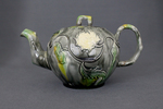 Whieldon teapot and cover