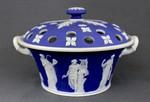 Flower pot and lid (potpourri)