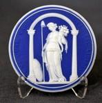 Liberty cameo medallion