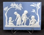 Infant Academy plaque by Josiah Wedgwood and Joshua Reynolds