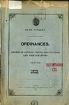 Ordinances, Orders-in-Council, Rules, Regulations and Proclamations,1913 by Saint Vincent