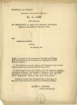 Ordinances, 1915 by Trinidad and Tobago