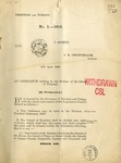 Ordinances, 1918 by Trinidad and Tobago
