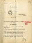 Ordinances, 1918